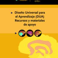Diseño Universal para el Aprendizaje-DUA-Recursos y materiales de apoyo 2021.pdf