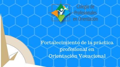 Fortalecimiento de la Práctica Profesional en orientación vocacional I ...